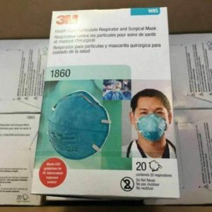 3M 1860 masks,NIOH Particulate, surgical Repirator