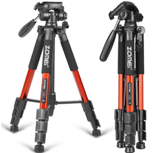 "ZOMEI 58"" Compact Light Weight  Portable  Tripod"