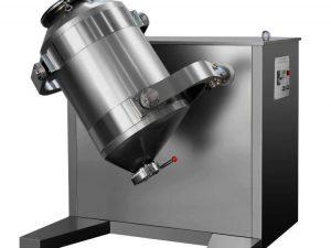 Three-dimensional motion mixer